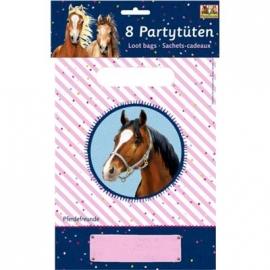 Partytüten Pferdefreunde (8 Stück)