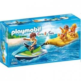PLAYMOBIL® 6980 - Family Fun - Jetski mit Bananenboot