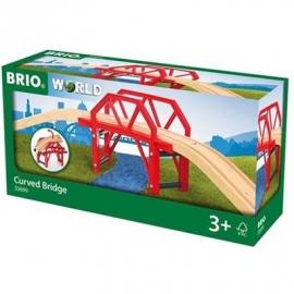BRIO Bahn - Bahnbrücke mit Auffahrten