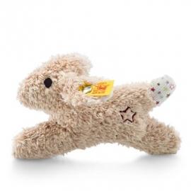 Steiff - Mini Knister-Hase mit Rassel, 11 cm