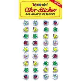 Ohr-Sticker Marienkaefer