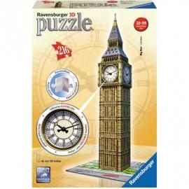 Ravensburger Puzzle - 3D Vision Puzzle - Big Ben mit Uhr, 216 Teile