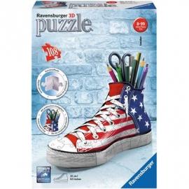 Ravensburger Puzzle - puzzleball - Sneaker, 108 Teile