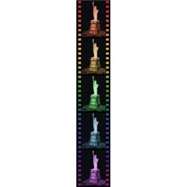 Ravensburger Puzzle - 3D-Puzzle - Freiheitsstatue bei Nacht, 108 Teile