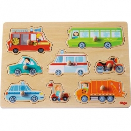 HABA - Greifpuzzle Fahrzeug-Welt, 8 Teile