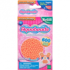 Aquabeads - Refill - Perlen, orange
