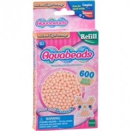 Aquabeads - Refill - Perlen, hellorange