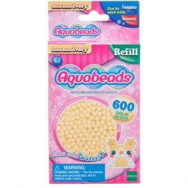 Aquabeads - Refill - Perlen, hautfarben