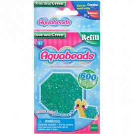 Aquabeads - Refill - Glitzerperlen, grün