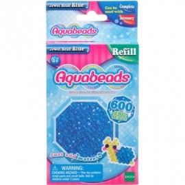 Aquabeads - Refill - Glitzerperlen, blau