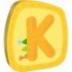 HABA - Holzbuchstaben K