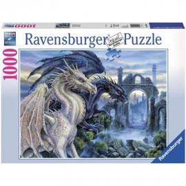 Ravensburger Puzzle - Mystische Drachen, 1000 Teile