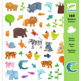 Djeco - Sticker: Animals