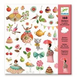 Djeco - Sticker: Princess Tea Party