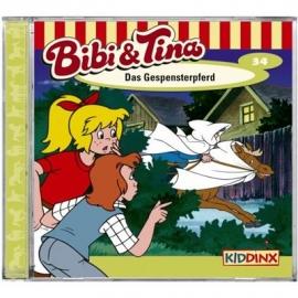 KIDDINX - CD Bibi und Tina … Das Gespensterpferd (Folge 34)