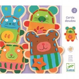 Djeco - Erstes Lernen - Corda doudou - FSC 100%