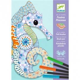 Djeco - Filzstifte - Motiv art