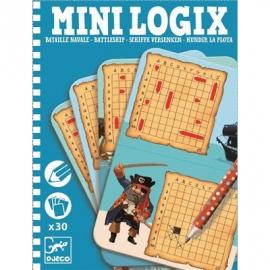 Djeco - Mini Logix: Battleship