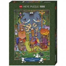 Heye - Standardpuzzle 1000 Teile - Mordillo: Photo