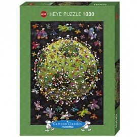 Heye - Standardpuzzle 1000 Teile - Mordillo, Football