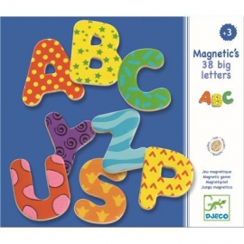 Djeco - Magnetspiel: 38 big letters