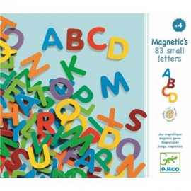 Djeco - Magnetspiel: 83 small letters