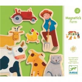 Djeco - Magnetspiel: Farm