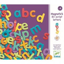 Djeco - Magnetspiel: 83 script letters