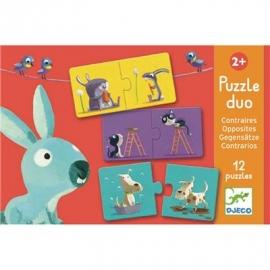 Djeco - Duo Puzzle: Opposites