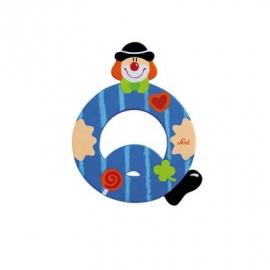 Sevi - Graffiti - Buchstabe Clown Q 10 cm