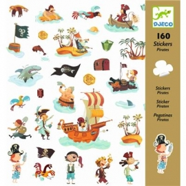 Djeco - Sticker: Pirates