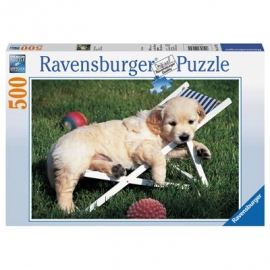 Ravensburger Puzzle - Golden Retriever, 500 Teile