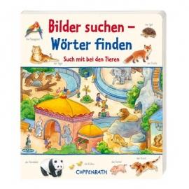 Coppenrath Verlag - Bilder suchen - Wörter finden: Such mit bei den Tieren