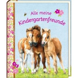 Coppenrath Verlag - Freundebuch: Alle meine Kindergartenfreunde - Pferdefreunde