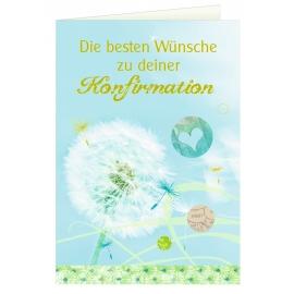 Coppenrath Verlag - Grußkarte - Die besten Wünsche zu deiner Konfirmation