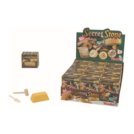 Simba - World of Toys - Secret Stone Gold 2, 8-sort.