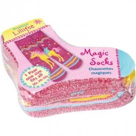 Die Spiegelburg - Magic Socks Prinzessin Lillifee, one size (Gr. 26-36)