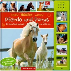 Coppenrath Verlag - Sehen-Hören-Wissen: Pferde und Ponys