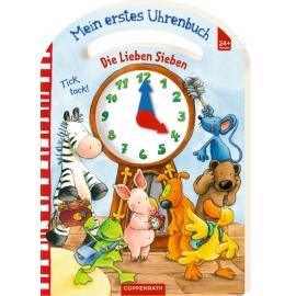 Coppenrath Verlag - Die Lieben Sieben: Mein erstes Uhrenbuch