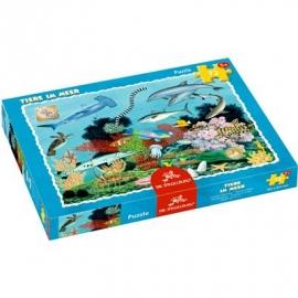 Die Spiegelburg - Boxpuzzle Tiere im Meer (72 Teile)