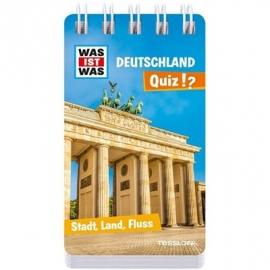 Tessloff - Was ist Was - Deutschland Quiz - Stadt, Land, Fluss