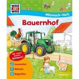 Tessloff - Was ist Was Junior - Mitmach-Heft - Bauernhof