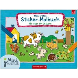 Coppenrath Verlag - Mini-Künstler: Mein erstes Sticker-Malbuch