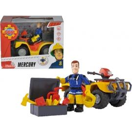 Simba - Feuerwehrmann Sam - Mercury-Quad mit Figur