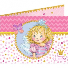 Die Spiegelburg - Einladungskarten Prinzessin Lillifee Ich bin ... (8 St.)