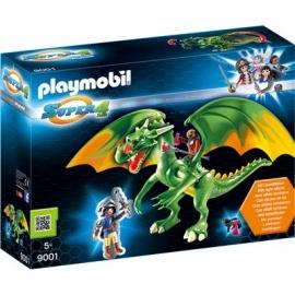 Playmobil® 9001 - Super 4 - Ritterland-Drache mit Alex