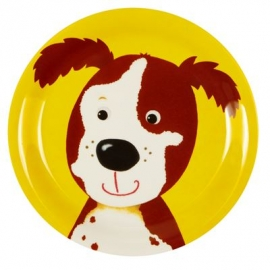 Die Spiegelburg - Kleiner Melamin-Teller Hund Freche Rasselbande
