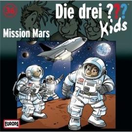 Europa - CD Die drei ??? Kids Mission Mars, Folge 36