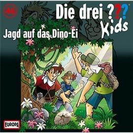 Europa - CD Die drei ??? Kids Jagd auf das Dino-Ei, Folge 46