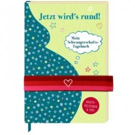 Coppenrath Verlag - Jetzt wirds rund - Mein Schwangerschafts-Tagebuch